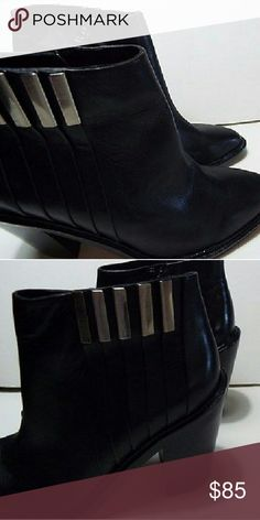 L.A.M.B. LEATHER BOOTIES 6 Great condition. Worn a few times with no major flaws. L.A.M.B. Shoes Ankle Boots & Booties