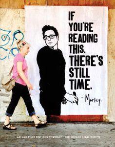 Morley street art.