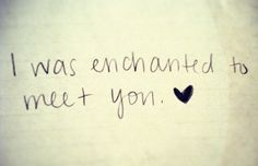 """Enchanted"""" by Taylor Swift. My sister's song for Lucas...I love it."""