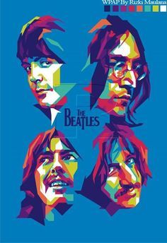 40 Lovely Beatles Artworks To Appreciate - Bored Art Foto Beatles, Les Beatles, Beatles Art, Beatles Poster, Beatles Photos, Arte Pop, Great Bands, Cool Bands, Rock And Roll