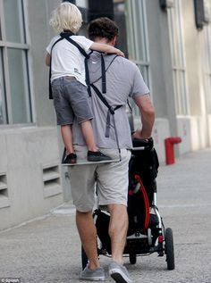 piggyback rider that my husband will use no matter what. So cool.