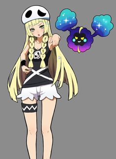Lillie as a member of Team Skull