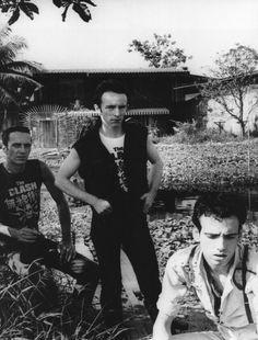 The Clash Joe Strummer Topper Headon Mick Jones
