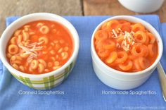 Homemade Spaghettios Recipe - With Extra Veggies | Healthy Ideas for Kids