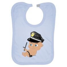 Police Baby Boy personalized bibs $13.99