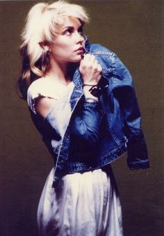 Debbie Harry, coolest blond girl ever.