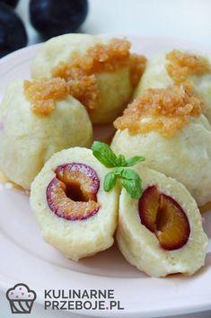 Knedle Recipe, Polish Recipes, Polish Food, Dumplings, Main Dishes, Good Food, Veggies, Food And Drink, Cooking Recipes