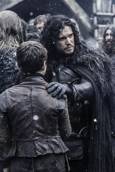 Jon Snow and Olly - Game of thrones 4 - 5