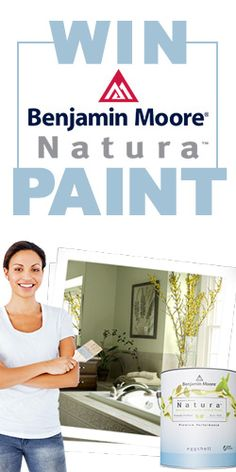 #Win #BenjaminMoore Natura #Paint