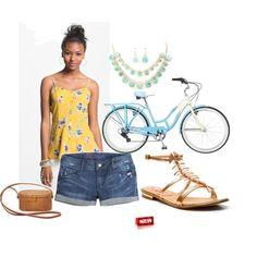 New player Alysia wins Top New Stylist honors ($5 gift card) in the Ride a Bike mission #fashion #contest #outfit