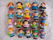 Random 10pcs Fisher Price Little People 10 People Figures