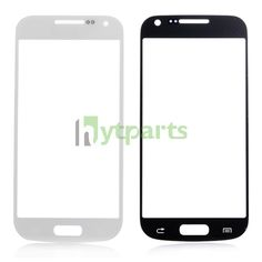 Replacement Front Outer Screen Glass Lens for Samsung Galaxy S4 Mini GT-I9190  White