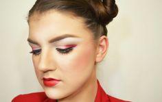 a worldly perspective: the modern geisha. makeup tutorial www.iamalizarin.blogspot.com