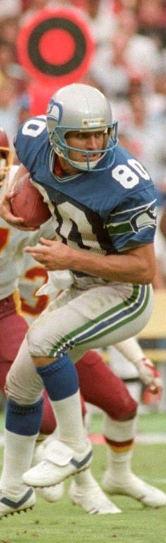 Steve Largent - Seattle Seahawks - HOF 1995: