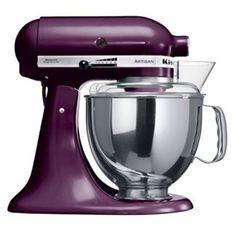 I do love my KitchenAid mixer.  And I love this eggplant purple!!