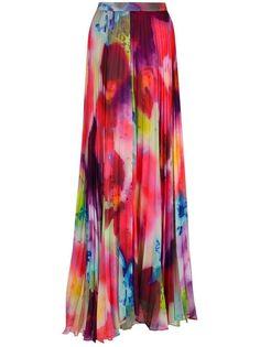 341e332b27 ALICE + OLIVIA Shannon printed chiffon maxi skirt Pleated Maxi, Chiffon Maxi,  Maxi Skirts
