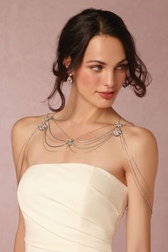 Nika Shoulder Necklace from @BHLDN