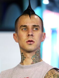 Travis Barker of Blink-182 | 13 Pop Punk Heartthrobs, Then And Now
