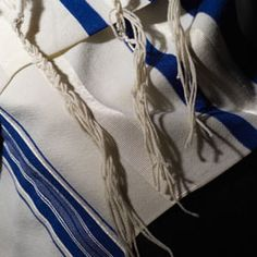 The Tallit (also sometimes spelled Tallith) is a Prayer Shawl worn by Jewish men and women (Orthodox women do not wear Tallit) after they reached their Bar Mitzvah (13th Jewish Birthday) for boys or Bat Mitzvah (12th Jewish Birthday) for girls. The Tallit is used during the morning prayer, on all weekdays (including Sabbath and other holy days). It is not worn for afternoon and evening prayers.