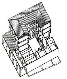 ANCIENT HOUSES,HOUSING,TENTS:BIBLE ARCHITECTURE: artist's
