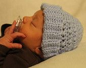 PDF Crochet Pattern. Baby Beanie with Ribbed Bottom. Newborn- 3 month size. by KraftyShack on Etsy, $2.99 USD