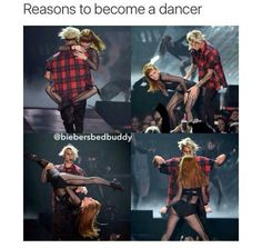 I wanna be a dancer now... Right this second... I will dance all the time