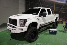 Lifted Ford Super Duty Truck at #SEMA 2012