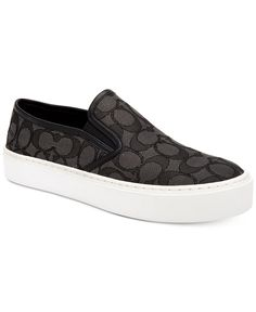 COACH Cameron Slip-On Sneakers - Sneakers - Shoes - Macy's