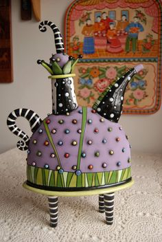 Jester Teapot.  LOVE this!  Adorable!