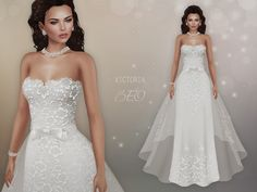 https://flic.kr/p/XQ9tAd | BEO - Victoria wedding gown | For The Trunk Show August 19th - September 18th TAXI TAXI (After the event) 100% Original Mesh For Maitreya Lara Body Two styles - a tail can be pull off