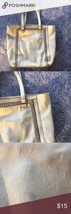 Tote Bag This tote bag has a few spots on the front side but is in very good condition still Bags Totes