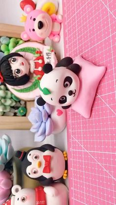 Fimo Disney, Polymer Clay Disney, Cute Polymer Clay, Cute Clay, Polymer Clay Miniatures, Polymer Clay Projects, Diy Clay, Clay Crafts For Kids, Diy Crafts For Girls