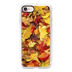 Fall Leaves - Nature's carpet of Autumn  - iPad Cover / Case (57 NZD) ❤ liked on Polyvore featuring accessories, tech accessories, ipad cover / case, ipad cases, ipad cover case, ipad sleeve case, apple ipad cover case and apple ipad case
