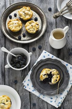 Blueberry pies, Blueberries and Pies on Pinterest