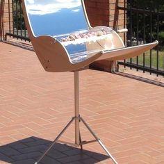 Solar Power BBQ