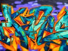 The Vain Graffiti Wall (detail), Belltown