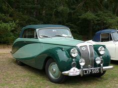 Vintage Car - Daimler DB18 [LXP 585] 110612 Sandringham by maljoe