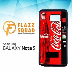 Coca Cola Machine W4247 Samsung Galaxy Note 5 Case