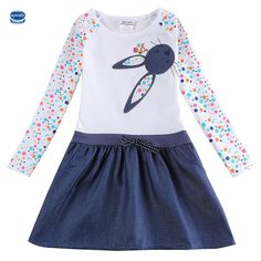 NOVATX baby girl dress 2016 bunny girl dresses for weddings party kids dresses for girls clothing summer style girls dress H5922 #>=#>=#>=#>=#> Click on the pin to check out discount price, color, size, shipping, etc. Save and like it!