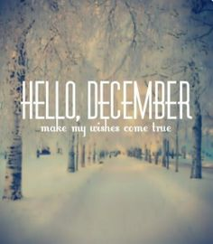 December Baby Names | Make my wishes come true #winter #quote