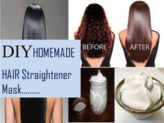 if you want to make your hair permanently straight then must try this amazing homemade hair straightening treatment. it will make your hair shiny.