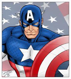 Captain America by statman71.deviantart.com on @DeviantArt