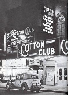 #CottonClub #Harlem #NYC #1946….I LUVie IT