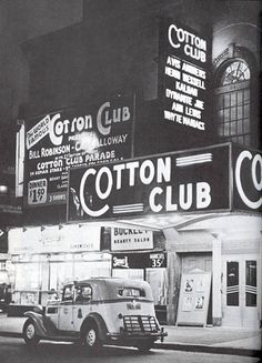 Cotton Club   Opened as Club DeLux on 142nd Street and Lenox Avenue by Jack Johnson in 1920. After the club failed, Johnson sold the club in 1923 to Owney Madden. Owney Madden called it The Cotton Club and only white people were allowed as guests. Very few blacks were allowed to attend as guests but all of the entertainers, performers and musicians were black.