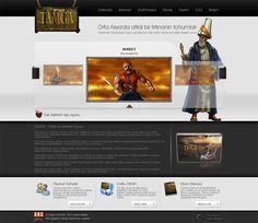 Tamga website design