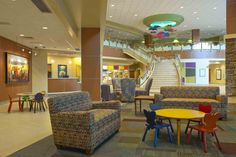 Lounge area in RMHC at Presbyterian/St. Luke's Medical Center