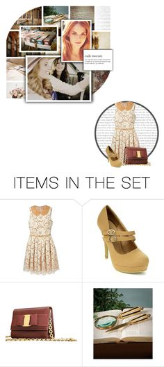 """Nancy Drew"" by rubytyra ❤ liked on Polyvore featuring art, vintage and BOTFFSEASON3"
