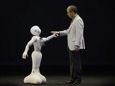 Japanese company unveils emotional robot