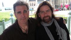 Two of my fave people. Sean McCann & Alan Doyle of Great Big Sea.