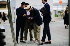 Pitti Uomo Street Style Proves that No One Is Better Dressed Than Italian Men Photos | W Magazine